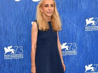VENICE, ITALY - SEPTEMBER 02:  Franca Sozzani attends the photocall of 'Franca: Chaos And Creation' during the 73rd Venice Film Festival at Palazzo del Casino on September 2, 2016 in Venice, Italy.  (Photo by Ian Gavan/Getty Images)
