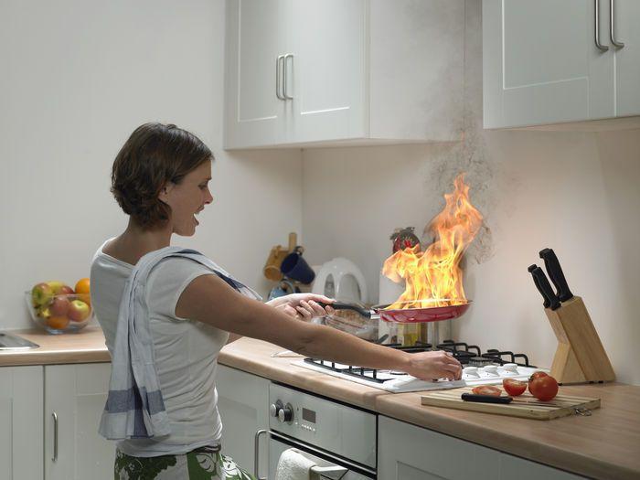 готвене, домакиня