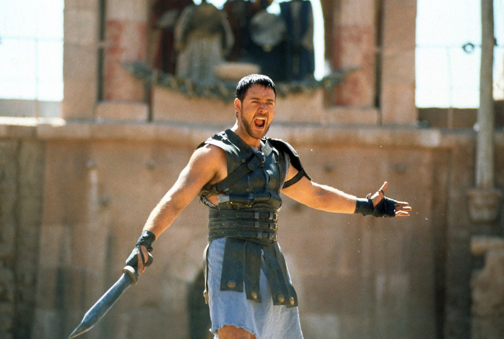 "Historian Mary Beard says real gladiator competitions were probably not as brutal as the film Gladiator (starring Russell Crowe) would have us believe. Still, she says, ""I loved Gladiator and I thought its depiction of gladiatorial combat, although it was an aggrandizing picture, was cleverly and expertly done"