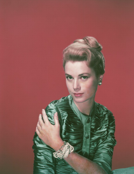 American actress Grace Kelly (1929 - 1982), circa 1955.  (Photo by Archive Photos/Getty Images)