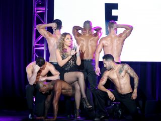 BEVERLY HILLS, CA - AUGUST 03:  Mariah Carey speaks onstage at the 'Mariah's World' panel discussion during the NBCUniversal portion of the 2016 Television Critics Association Summer Tour at The Beverly Hilton Hotel on August 3, 2016 in Beverly Hills, California.  (Photo by Frederick M. Brown/Getty Images)