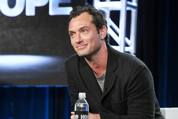 PASADENA, CA - JANUARY 14:  Actor Jude Law of the limited series 'The Young Pope' speaks onstage during the HBO portion of the 2017 Winter Television Critics Association Press Tour at Langham Hotel on January 14, 2017 in Pasadena, California.  (Photo by Jeff Kravitz/FilmMagic)