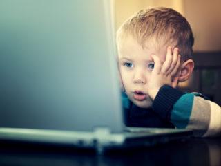 дете, компютър