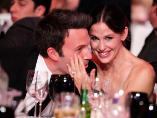LOS ANGELES, CA - JANUARY 14:  Ben Affleck and Jennifer Garner and Jennifer during the 16th annual Critics' Choice Movie Awards at the Hollywood Palladium on January 14, 2011 in Los Angeles, California.  (Photo by Christopher Polk/Getty Images for VH1)