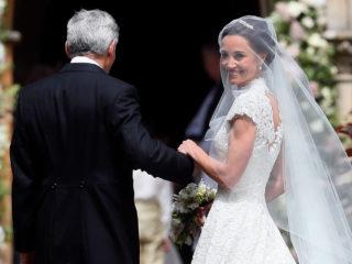 Пипа Мидълтън сватба булка