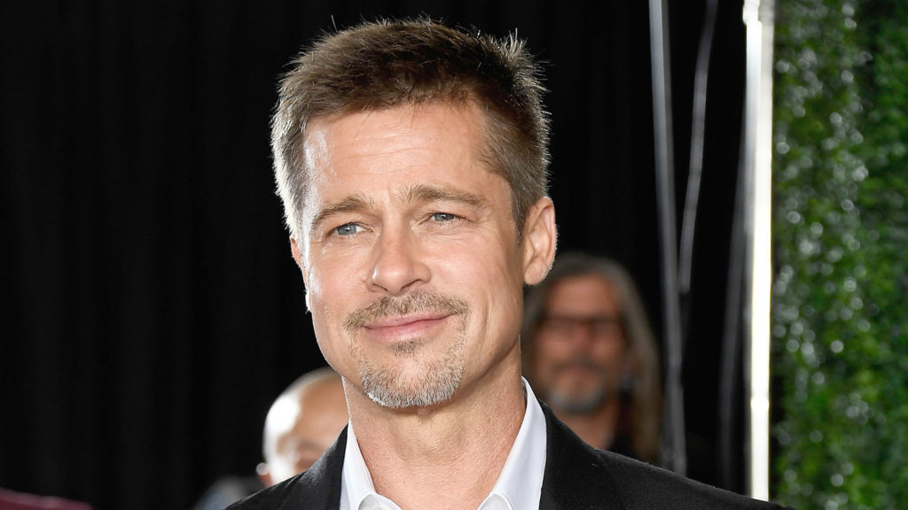 Brad Pitt attends the fan event for Paramount Pictures' 'Allied' at Regency Village Theatre on November 9, 2016 in Westwood, California.