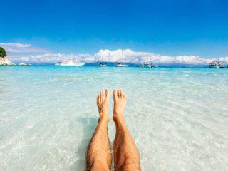 крака, море, плаж