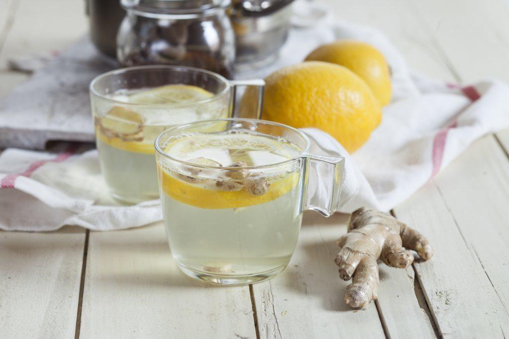 джинджифил чай лимон отвара