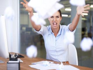 работа бюро офис стрес гняв