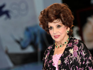 """VENICE, ITALY - SEPTEMBER 04:  Gina Lollobrigida attends the """"Lines Of Wellington"""" Premiere during The 69th Venice Film Festival at the Palazzo del Cinema on September 4, 2012 in Venice, Italy.  (Photo by Gareth Cattermole/Getty Images)"""