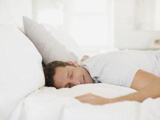 спящ мъж, сън