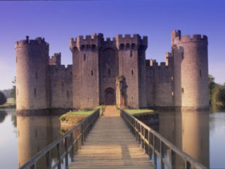 UK, England, Sussex, Bodiam Castle