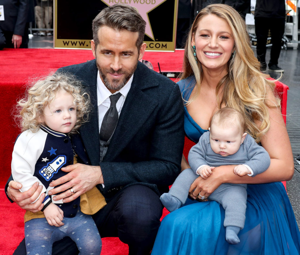 HOLLYWOOD, LOS ANGELES, CA, USA - DECEMBER 15: Actor Ryan Reynolds Honored With Star On The Hollywood Walk Of Fame - Dedication of the 2,596th star on the Walk of Fame in the category of Motion Pictures on December 15, 2015 in Hollywood, Los Angeles, California, United States. (Photo by Xavier Collin/Image Press/Splash News)  Pictured: James Reynolds, Ryan Reynolds, Blake Lively Ref: SPL1411380  151216   Picture by: Xavier Collin/Image Press/Splash  Splash News and Pictures Los Angeles:310-821-2666 New York:212-619-2666 London:870-934-2666 photodesk@splashnews.com