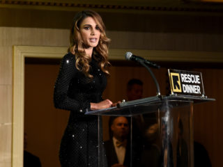NEW YORK, NY - NOVEMBER 02:  Queen Rania Al-Abdullah of Jordan speaks onstage during the International Rescue Committee 2016 Rescue Dinner at the Waldorf Astoria Hotel on November 2, 2016 in New York City.  (Photo by Ilya S. Savenok/Getty Images for IRC)