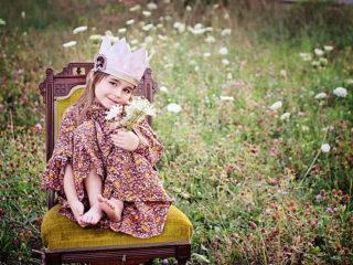 дете, момиче, принцеса