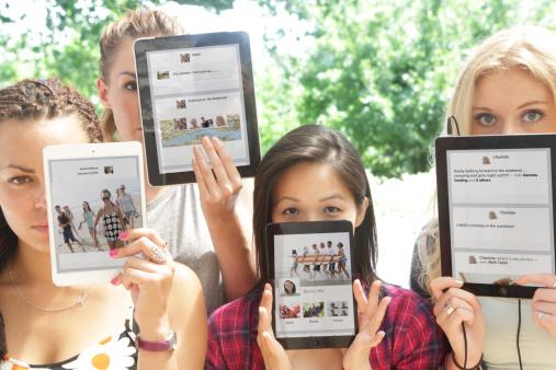 интернет таблет социална мрежа