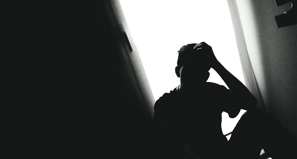 депресия, тъжен мъж