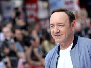 "LONDON, ENGLAND - JUNE 21:  Kevin Spacey attends the European Premiere of Sony Pictures ""Baby Driver"" on June 21, 2017 in London, England.  (Photo by Tim P. Whitby/Getty Images for Sony Pictures )"