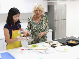 Камила кухня готвене готвачка храна вкусно