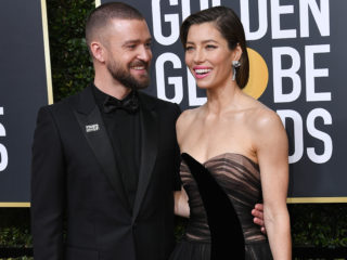 Justin Timberlake and Jessica Biel, Golden Globes 2018