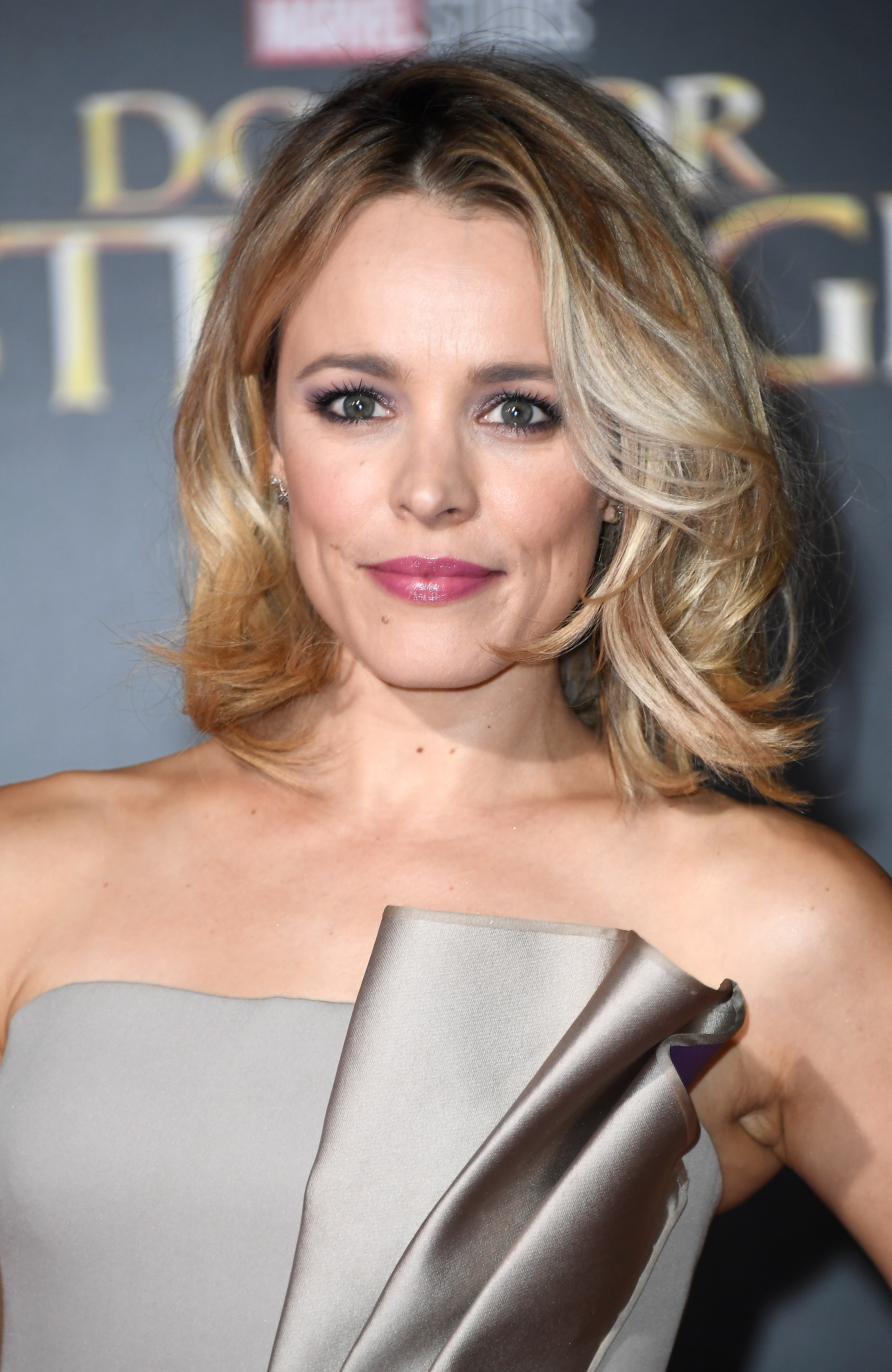 "HOLLYWOOD, CA - OCTOBER 20: Actress Rachel McAdams attend the Premiere of Disney and Marvel Studios' ""Doctor Strange"" on October 20, 2016 in Hollywood, California. (Photo by Frazer Harrison/Getty Images)"