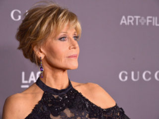 LOS ANGELES, CA - NOVEMBER 04:  Actor Jane Fonda attends the 2017 LACMA Art + Film Gala Honoring Mark Bradford and George Lucas presented by Gucci at LACMA on November 4, 2017 in Los Angeles, California.  (Photo by Charley Gallay/Getty Images for LACMA)