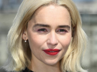 LONDON, ENGLAND - MAY 18:  Emilia Clarke attends Solo: A Star Wars Story photocall on May 18, 2018 in London, United Kingdom.  (Photo by Stuart C. Wilson/Getty Images)