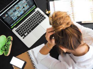 business, woman, laptop, calendar