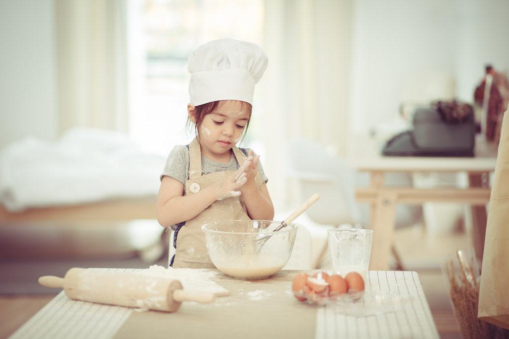 дете, храна, готвене