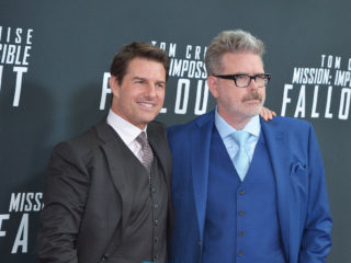 "WASHINGTON, DC - JULY 22:  Tom Cruise and director Christopher McQuarrie attend the U.S. Premiere of ""Mission: Impossible - Fallout"" at Smithsonian's National Air and Space Museum on July 22, 2018 in Washington, DC.  (Photo by Shannon Finney/Getty Images)"