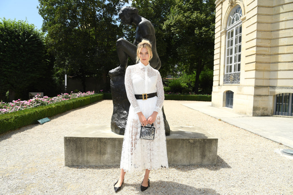 PARIS, FRANCE - JULY 02:  Karlie Kloss attends the Christian Dior Haute Couture Fall Winter 2018/2019 show as part of Paris Fashion Week on July 2, 2018 in Paris, France.  (Photo by Pascal Le Segretain/Getty Images for Christian Dior Couture)