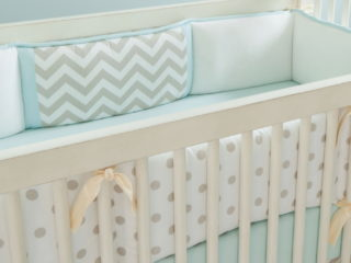 Crib Bumpers Bumper Target Solpool Info Cot Bedding And Blue Baby throughout Baby Crib Bumper - ussconway.com