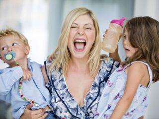 майка с деца