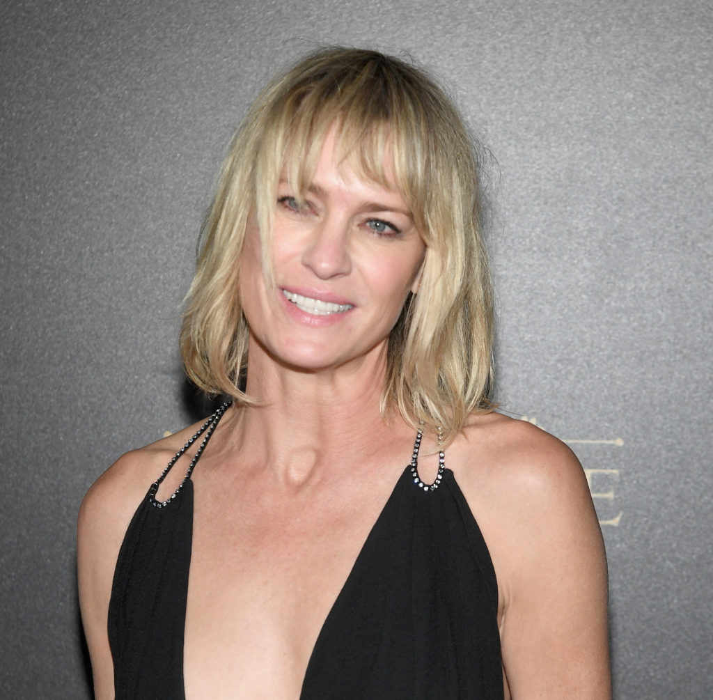 PARIS, FRANCE - OCTOBER 01:  Robin Wright attends the Vogue Party as part of the Paris Fashion Week Womenswear Spring/Summer 2018 at Le Petit Palais on October 1, 2017 in Paris, France.  (Photo by Pascal Le Segretain/Getty Images)