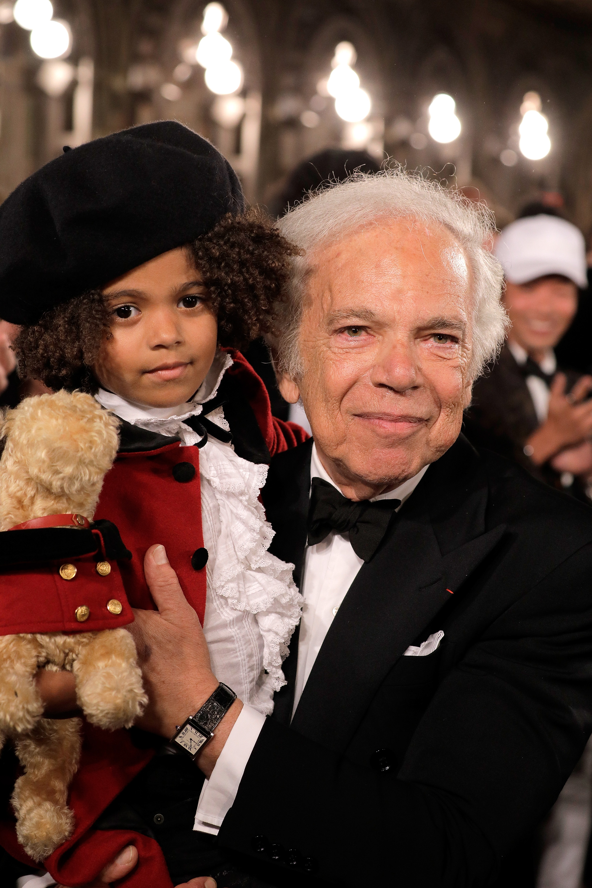 NEW YORK, NY - SEPTEMBER 07:  Designer Ralph Lauren walks the runway for Ralph Lauren fashion show during New York Fashion Week at Bethesda Terrace on September 7, 2018 in New York City.  (Photo by Randy Brooke/Getty Images)