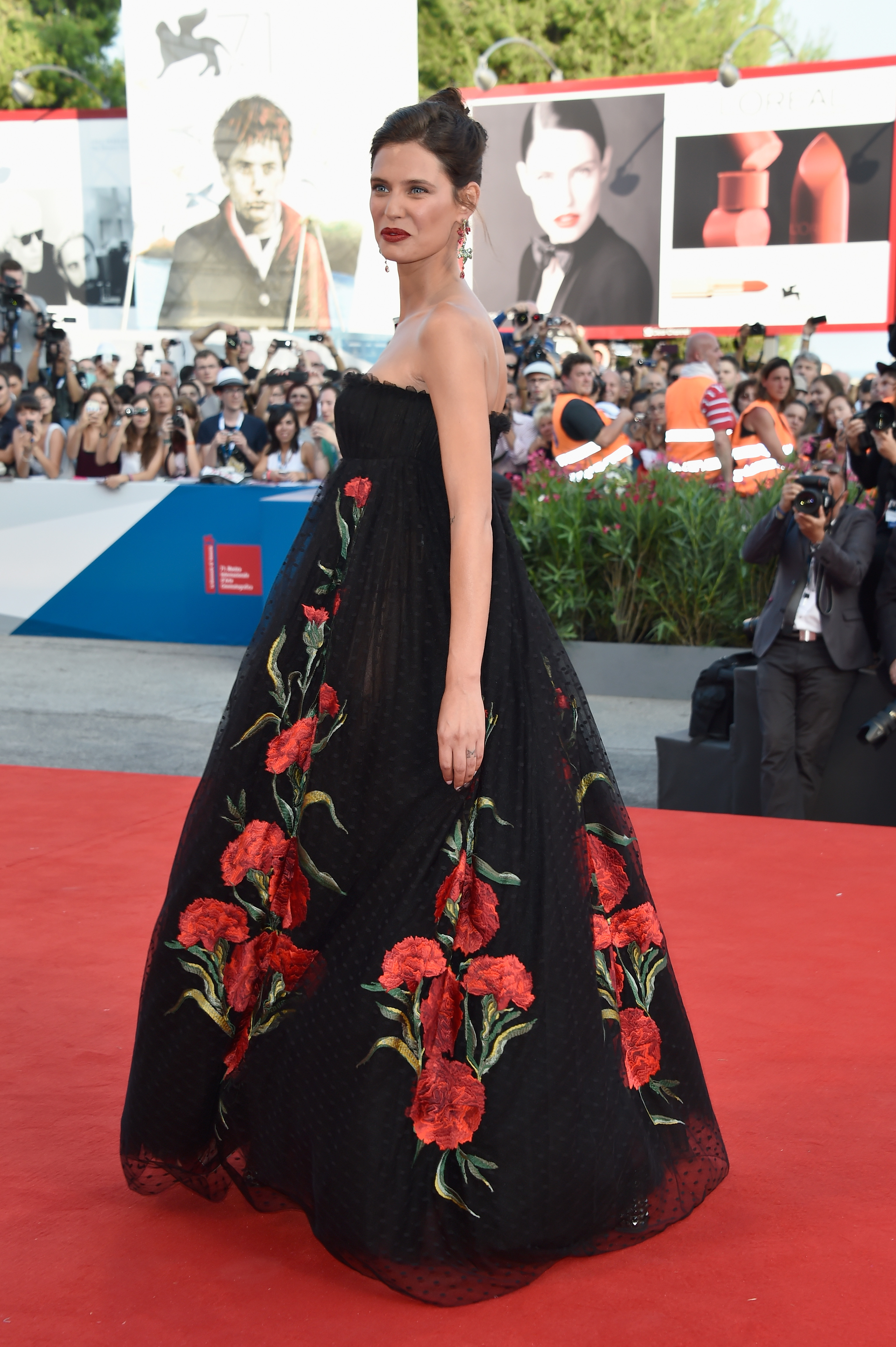 VENICE, ITALY - AUGUST 27:  Bianca Balti attends the Opening Ceremony and 'Birdman' premiere during the 71st Venice Film Festival on August 27, 2014 in Venice, Italy.  (Photo by Pascal Le Segretain/Getty Images)