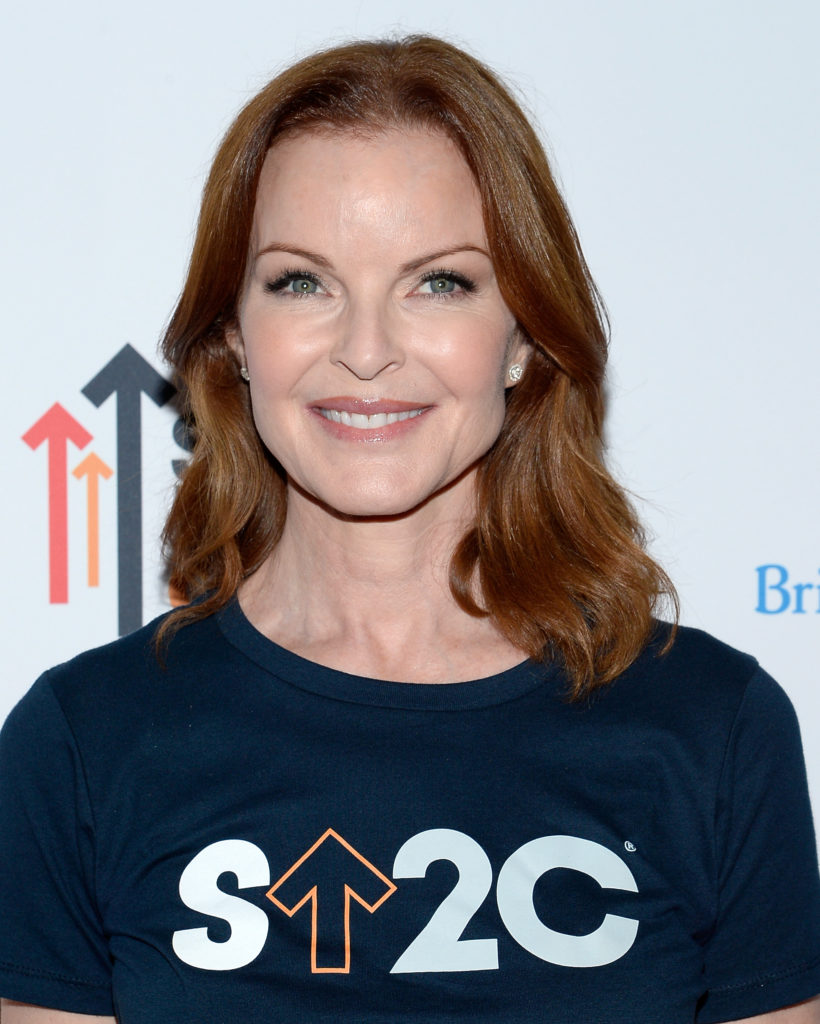 LOS ANGELES, CA - SEPTEMBER 09:  Actress Marcia Cross attends Hollywood Unites for the 5th Biennial Stand Up To Cancer (SU2C), A Program of The Entertainment Industry Foundation (EIF) at Walt Disney Concert Hall on September 9, 2016 in Los Angeles, California.  (Photo by Kevork Djansezian/Getty Images)