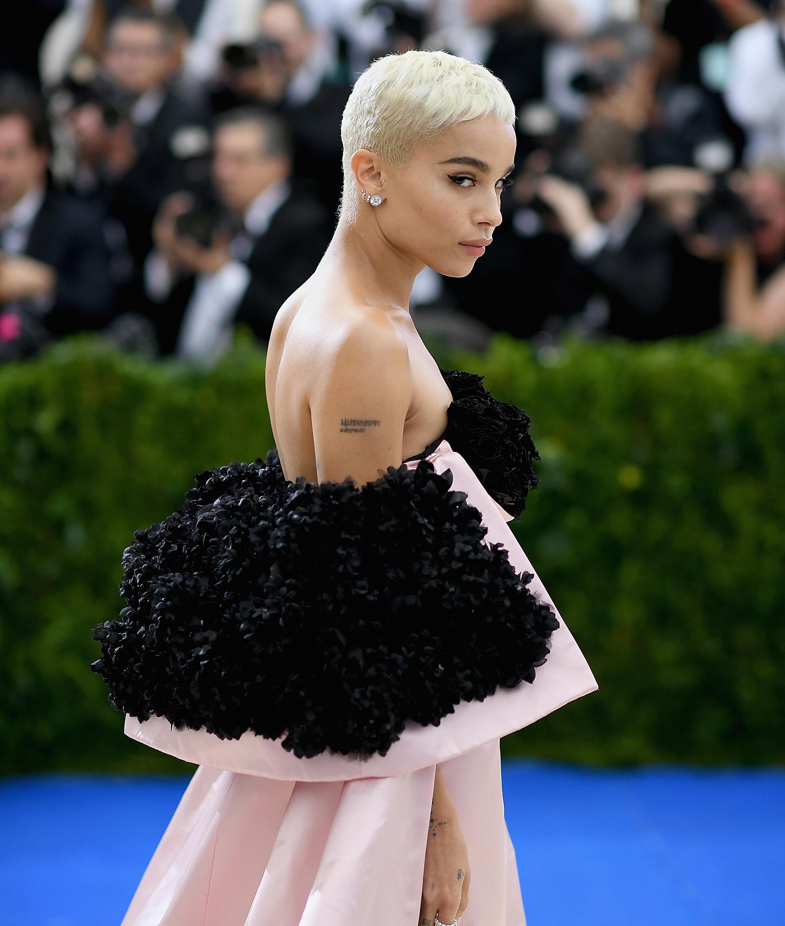 NEW YORK, NEW YORK - MAY 01: Zoe Kravitz attends the 'Rei Kawakubo/Comme des Garcons: Art Of The In-Between' Costume Institute Gala at Metropolitan Museum of Art on May 1, 2017 in New York City. (Photo by Dimitrios Kambouris/Getty Images)
