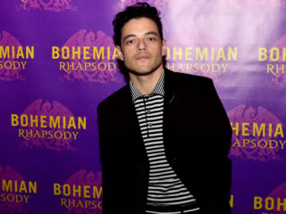 BOSTON, MA - OCTOBER 01:  Actor Rami Malek, who portrays Freddie Mercury,  walks the red carpet at the Boston red carpet screening of 'Bohemian Rhapsody,' the film about the rock band Queen and its lead singer Freddie Mercury, at AMC Boston Common on October 1, 2018 in Boston, Massachusetts.  (Photo by Paul Marotta/Getty Images for 20th Century Fox)