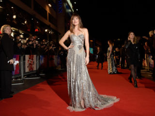 "LONDON, ENGLAND - OCTOBER 16:  Dakota Johnson attends the UK Premiere of ""Suspiria"" & Headline Gala during the 62nd BFI London Film Festival on October 16, 2018 in London, England.  (Photo by Gareth Cattermole/Gareth Cattermole/Getty Images for BFI)"