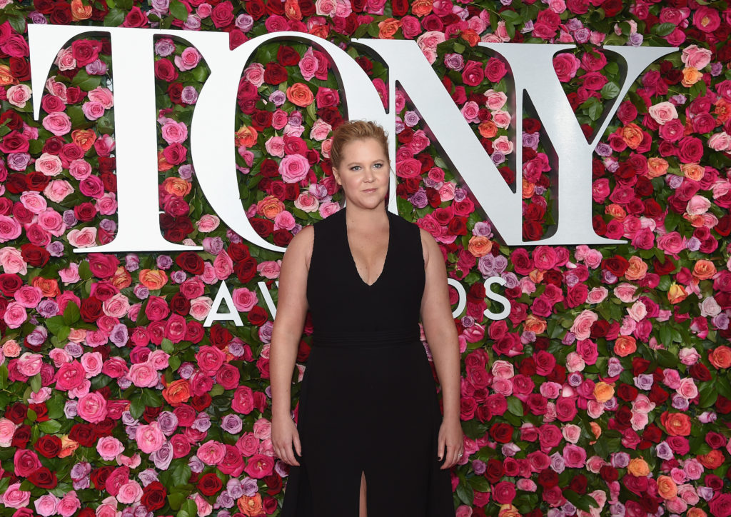 NEW YORK, NY - JUNE 10: Amy Schumer attends the 72nd Annual Tony Awards at Radio City Music Hall on June 10, 2018 in New York City.  (Photo by Jamie McCarthy/Getty Images)