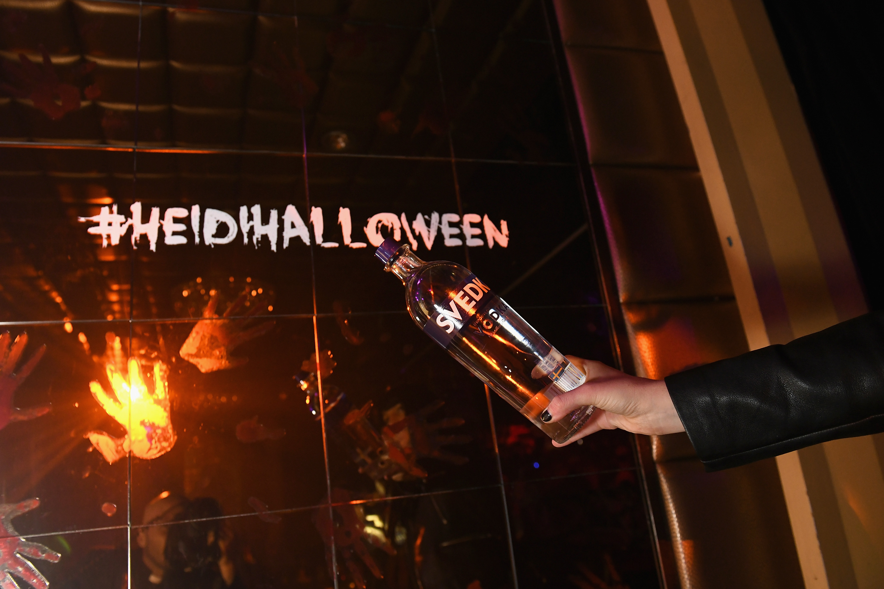 NEW YORK, NY - OCTOBER 31:  A view of SVEDKA Vodka during Heidi Klum's 19th Annual Halloween Party Sponsored by SVEDKA Vodka and Party City at Lavo NYC on October 31, 2018 in New York City.  (Photo by Craig Barritt/Getty Images for SVEDKA Vodka)