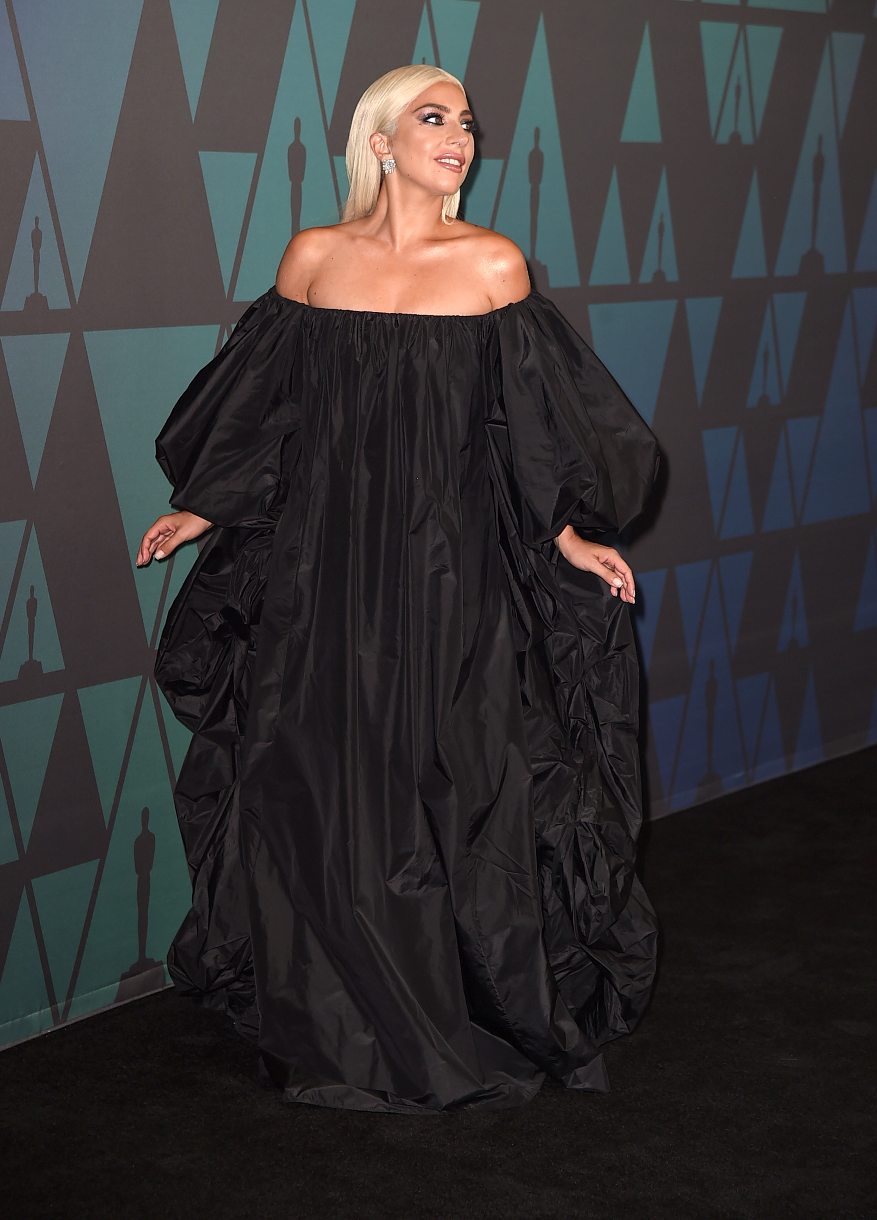 HOLLYWOOD, CA - NOVEMBER 18:  Lady Gaga attends the Academy of Motion Picture Arts and Sciences' 10th annual Governors Awards at The Ray Dolby Ballroom at Hollywood & Highland Center on November 18, 2018 in Hollywood, California.  (Photo by Kevin Winter/Getty Images)
