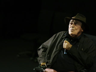 ROME, ITALY - OCTOBER 15:  Director Bernardo Bertolucci attends the Cocktail Party during the 9th Rome Film Festival at Casa del Cinema on October 15, 2014 in Rome, Italy.  (Photo by Ernesto Ruscio/Getty Images)