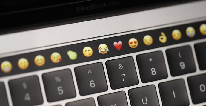 apple клавиатура, емотикони