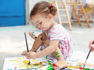 рисуаващо дете, творчество