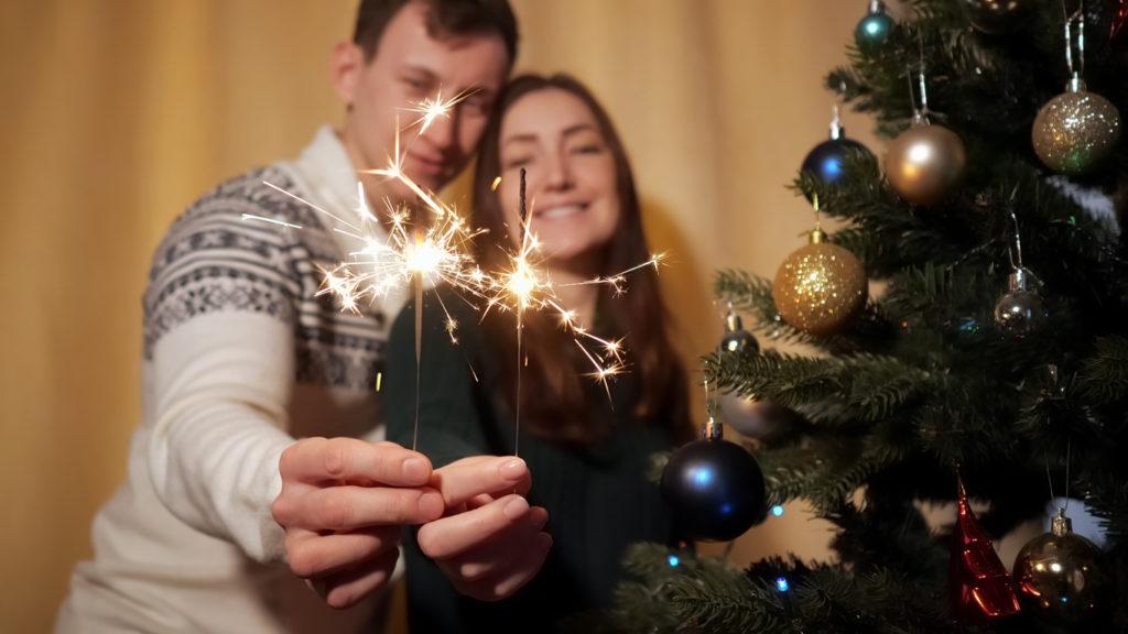 двойка, нова година