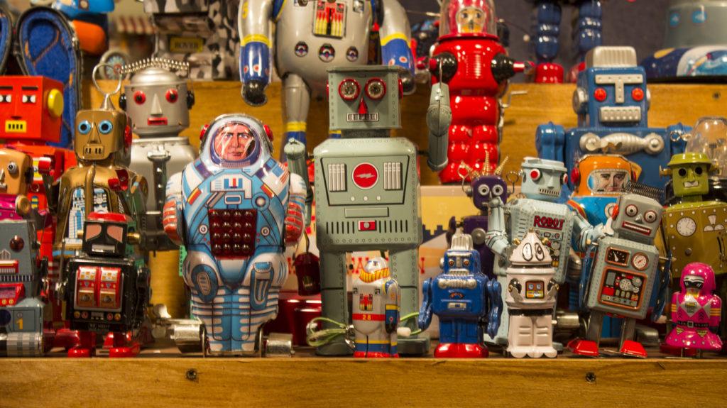 играчки, роботи