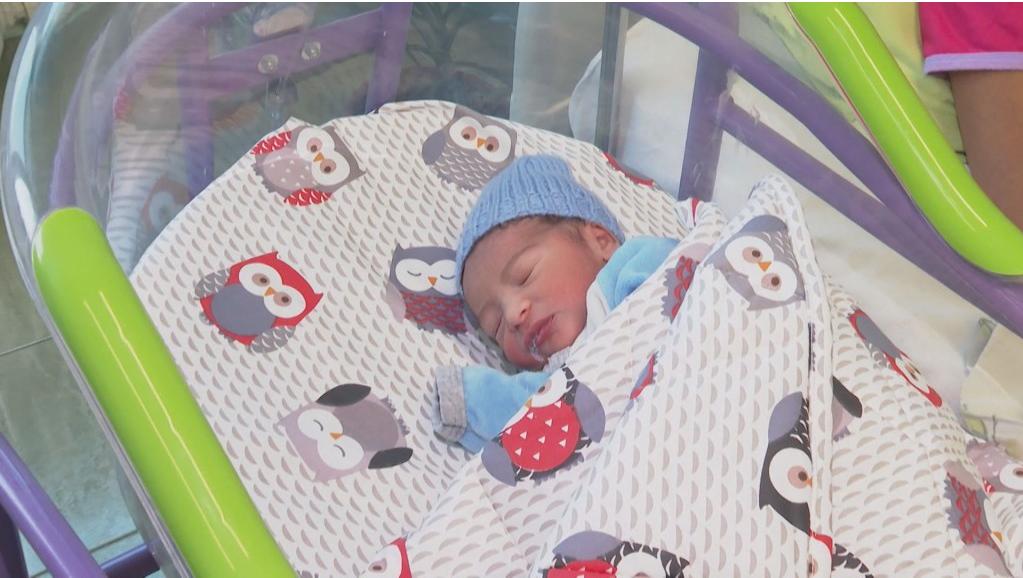 Първото  бебе на 2020 година - Райчо от Пловдив / btvnovinite.bg