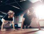 здрави бащи, тренировка, баща и син, фитнес